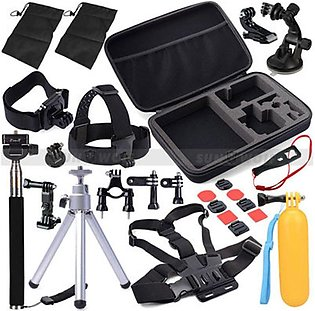 30 in 1 Sports Camera Combination Accessory Set For GoPro Hero 4/3/3+