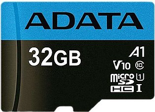 A DATA  32GB Micro SD UHS-I Class 10 With 4 Year Brand Warranty