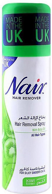 Hair Removal Spray With Baby Oil 200ml All Hair Types for Legs and Underarms On…