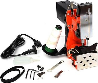 220V Industrial Portable Electric Bag Stitching Closer Seal Sewing Machine 100W