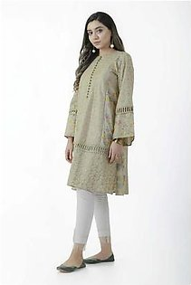 EGO Fall Collection 2019 Caramel Beige Cotton Kurti For Women