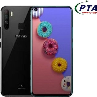 Infinix S5 - 32MP In-Display Selfie Camera & 6.6 inch Punch hole display - 4G...