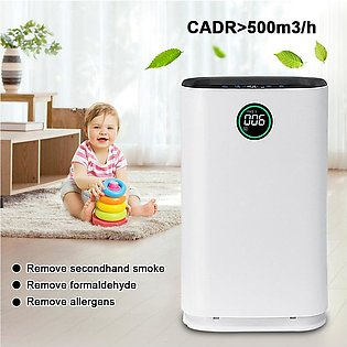 【SpecialOffer】Air Purifier 6 Stage HEPA Filter Ionic Smoke Odor Dust Remover ...