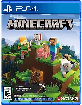 Ps4 Minecraft PS4 Games PlayStation 4