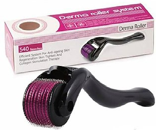 Derma Roller Skin Therapy 540 Micro Needle 0.5 Mm