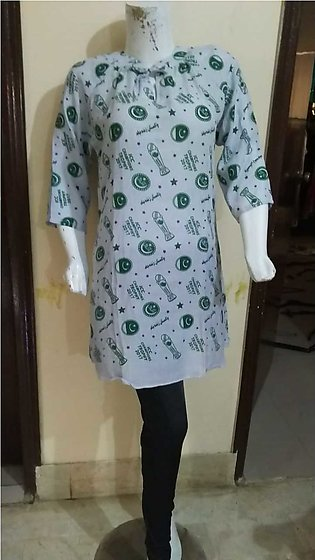 14 August kurti for females stuff cotton by A-J Corner
