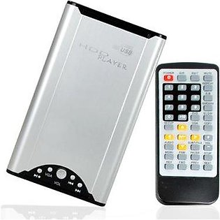 """Mobile Media 2.5"""" ID HDD Enclosure with Media Player"""