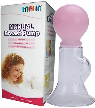 Manual Breast Pump - Transparent