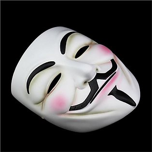 Halloween horror face V mask hacker mask