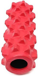 5×13 inch Deluxe Foam Grid Sports Yoga Massage Roller Injury/Physio/Gym/Muscle Repai (Red)