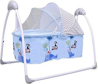Baby Cot Cradle with Movable Basket & Mosquito Net