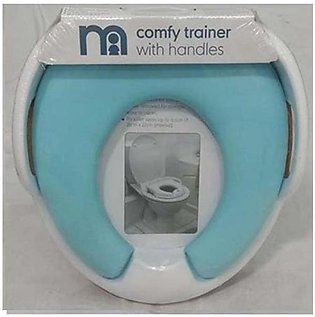 Baby Trainer with Handle Potty Box (Blue)