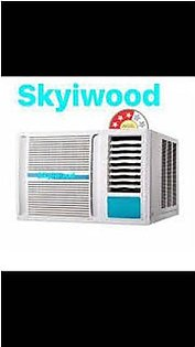 AC SKYIWOOD Window Air Conditioner 1 Ton SKW-1224 50% Energy Saving