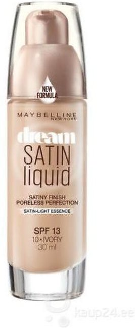 Maybelline Dream Satin Liquid Foundation - 10 Iivory, 30ml