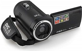 16Mp Digital Video Camcorder Camera - 16X Zoom - Black