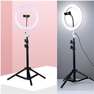Small Portable Mobile Ring Light Tiktok LED Studio Camera Ring Light 3 Color St…