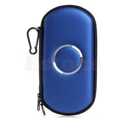 SONY PSP 1000 2000 3000 Slim AirForm Pouch Bag Hard Cover Case (Blue)