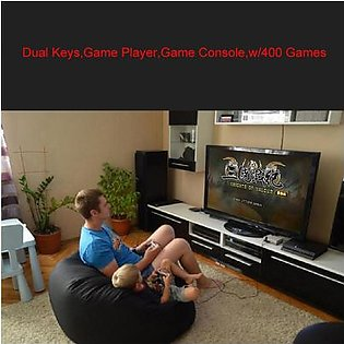 VAKIND Dual Keys Game Player Game Console for NES with 400 Games HDMI Cable