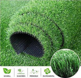 Artificial Grass (Size 1ft x 6ft) 40 mm Thickness Artificial Turf - Artificia...
