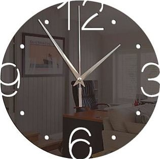 acrylic Wall Clock Fashion Modern quartz clock acrylic mirror wall clock