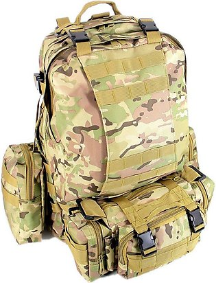 TE 600D Oxford Travel Bag Set Military Tactical Camouflage Backpack Bl002