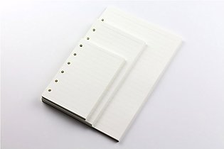 A5 A6 A7 Loose Leaf Notebook Refill Spiral Binder Planner Inner Page Inside Pap…