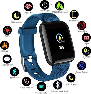 NEW 116plus Smart Bracelet Color Touch Screen Smart watch Smart Band Heart Rate…