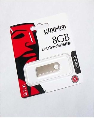 Kingston Data Traveler USB - 8 GB - DTSE9 - Silver