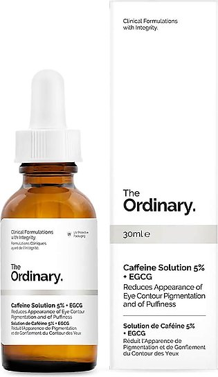 The Ordinary - Caffeine Solution 5% + Egcg Serum For Tired Eyes - Reduce Eye ...