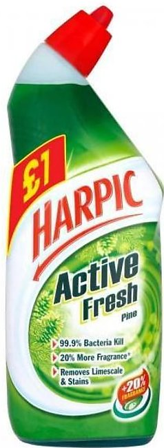 PACK OF 3 : HARPIC ACTIVE FRESH MOUNTAIN PINE LIME SCALE AND STAIN REMOVER 75...