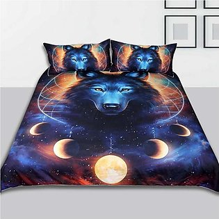 3pcs / set bedding sets for pillowcases duvet cover with dream lunas pattern pr…