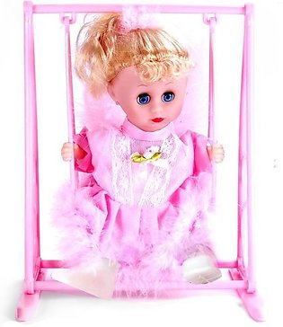 Toy For Kid Moving Marry Go Round Doll