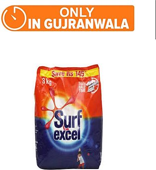 SURF EXCEL DETERGENT 3 KG (One day delivery in Gujranwala)