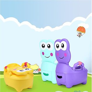 Fashion Lovely 3 Color Portable Cartoon Frog Pattern Baby Potty Children Kid Tr…