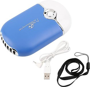 LALA Rechargeable Portable Mini Handheld Air Conditioning Cooling Fan USB Cooler