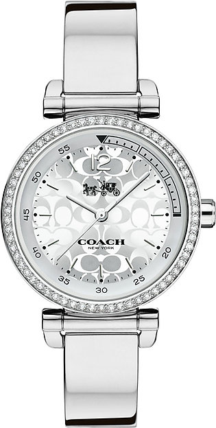Coach Watch For Women - Analog Stainless steel Strap, 14502541