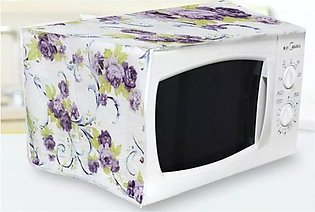 Microwave Dust Cover Oven Cover Anti-Oil Water & Dust Proof Cover Microwave Ove…