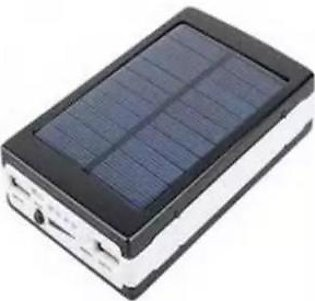20,000Mah Solar Powered Power Bank With Led Torch