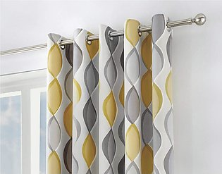 WINTER COLLECTION SUNSHINE BLOCK, DUST PROOF BLACKOUT CURTAINS 90 X 90 FOR WI...