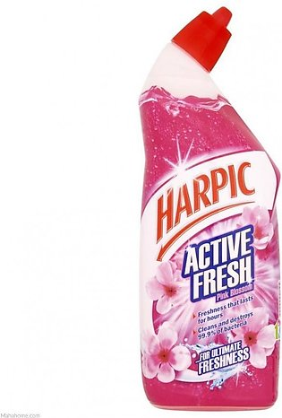 PACK OF 3 : HARPIC ACTIVE FRESH PINK BLOSSOM LIME SCALE AND STAIN REMOVER 750...