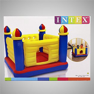INTEX Kids Bounce Castle House Inflatable Bouncer JumpOLene