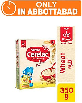Nestle CERELAC Wheat 350g - Baby Food (One day delivery in Abbottabad)