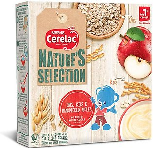 NESTLE CERELAC NATURE'S SELECTION Rice Oats & Apple  (175g)