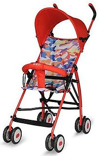 Lightweight Foldable Portable Baby Stroller Four Wheel Outdoor Baby Stroller