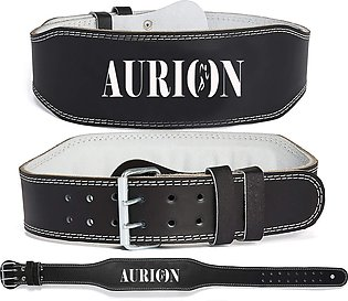 Power Weight Belt Leather 4' Lifting