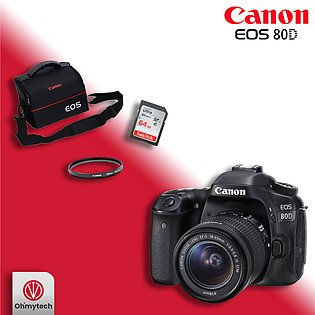 Canon 80D Combo Offer