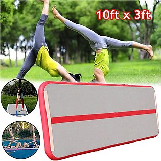 【To Global】10x3.3FT Inflatable Air Track Gymnastics Tumbling Training Floor Y...