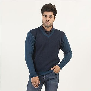 Oxford Lambwool Pullover For Men