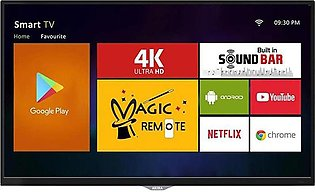 AKIRA Singapore 39MS1303 - 39  HD Android LED TV with Built-in Sound Bar - Black