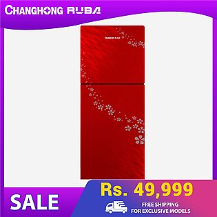 Changhong Ruba - Fastest Cooling -Top Mounted CHR-DD308G Refrigerator  - Red